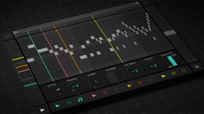 Screenshot #1 pour Fugue Machine : MIDI Sequencer