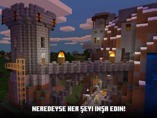 Minecraft ipad ekran görüntüleri