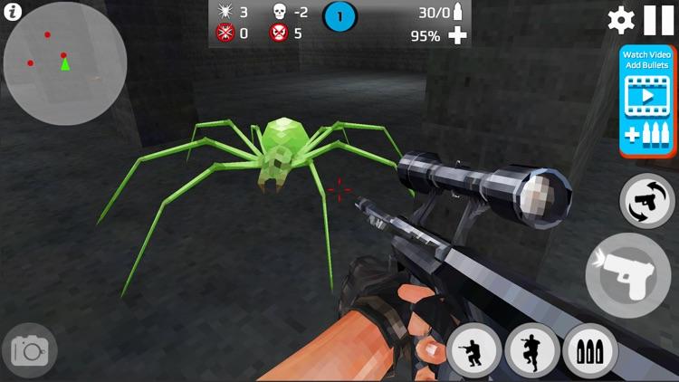 Pixel Skeleton Shot : Dark War screenshot-3