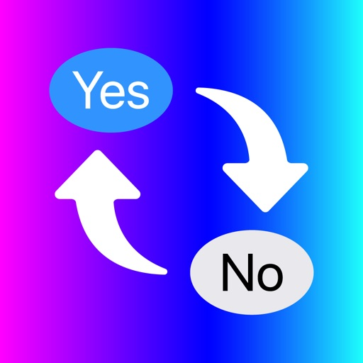 Yes No Reverse Stickers App
