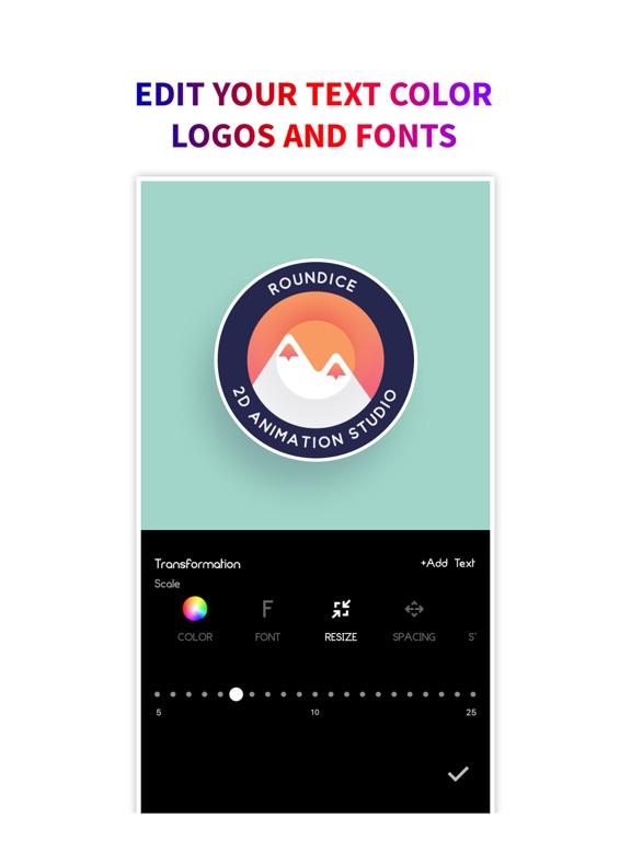 Ipad Screen Shot Logo Maker + Logo Creator 6