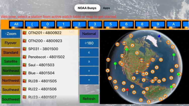 Instant NOAA Buoys 3D Pro