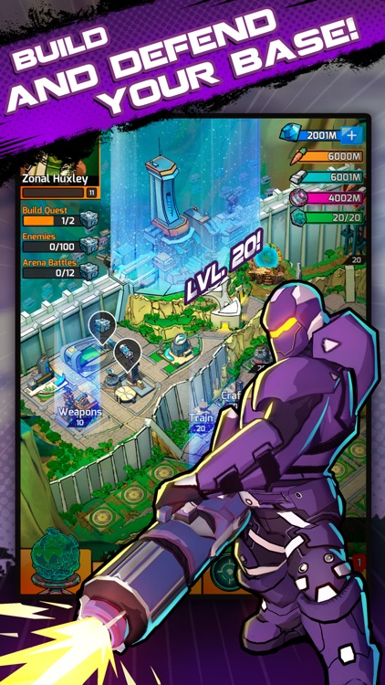 Puzzle Force: Match 3 RPG screenshot-4