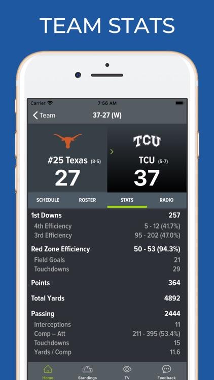 TCU Football Schedules screenshot-4