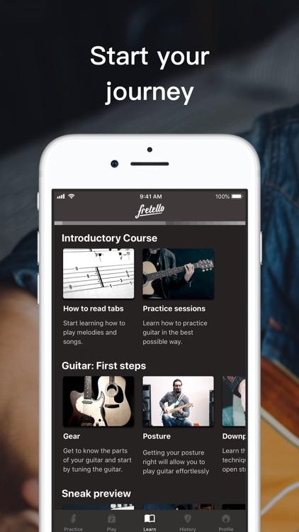 Fretello - Guitar Lessons screenshot-3