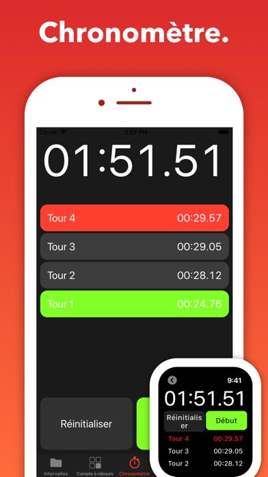Seconds Pro Minuteur