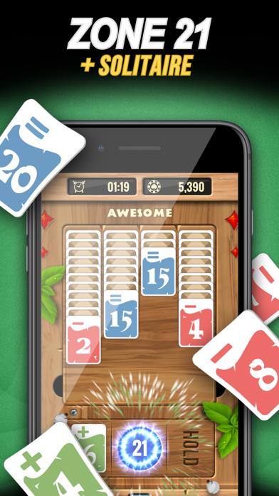 Zone 21 - Math Solitaire screenshot 1