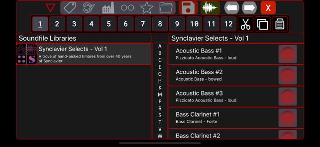 Synclavier Go! Screenshot