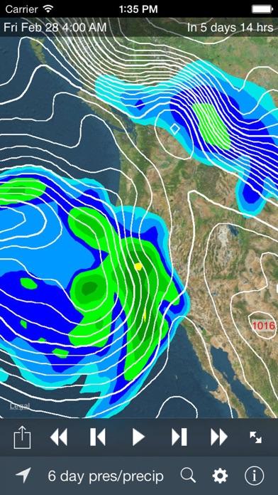Screenshot for NOAA SuperRes Radar US in Peru App Store