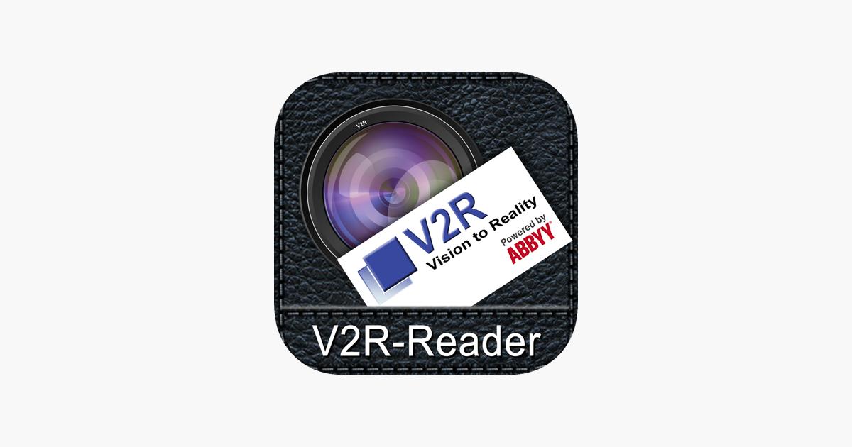 V2r Business Card Reader