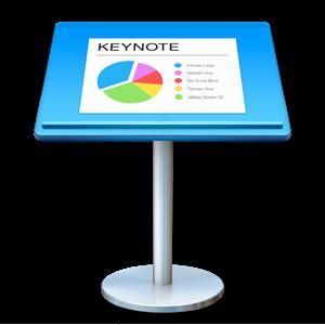 Keynote Productivity app