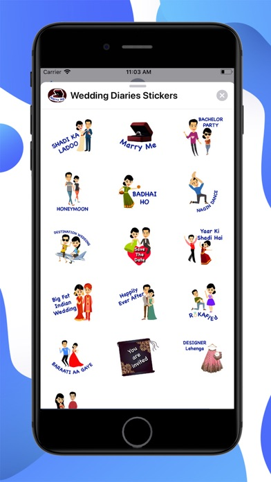 Wedding Diaries Stickers screenshot 1
