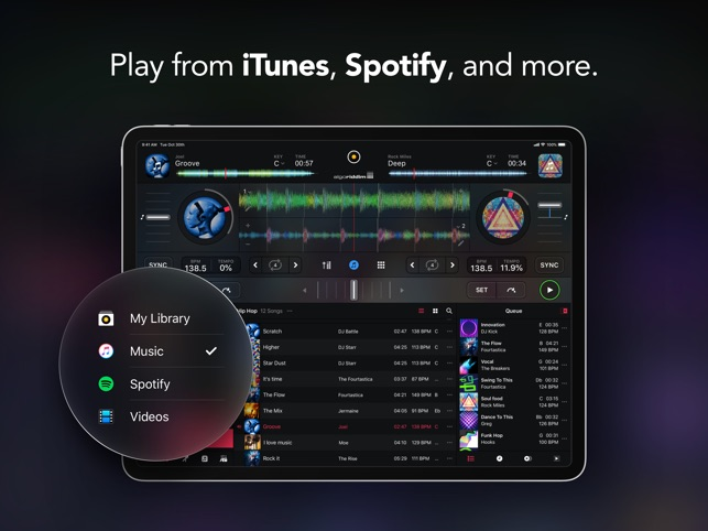 djay - DJ App & Mixer on the App Store