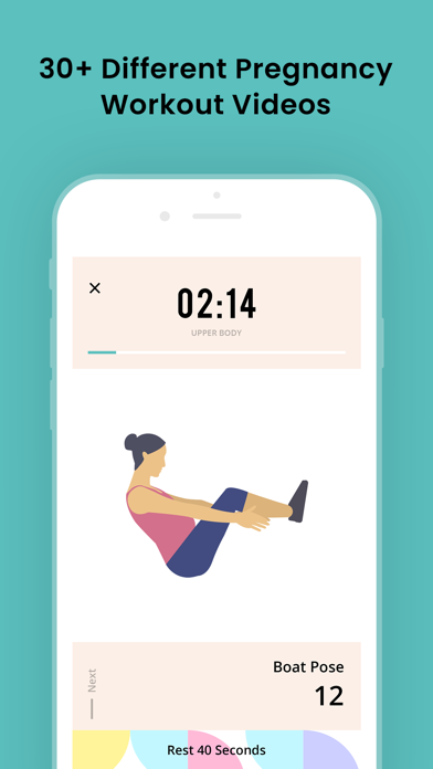 Pregnancy Workouts- Prenatal Screenshot