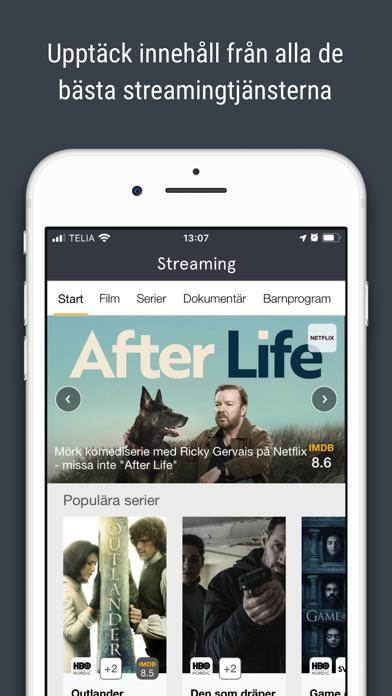 tv.nu - Guide till TV & Play screenshot four