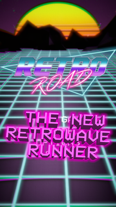 Retro Road - Retrowaveのおすすめ画像1