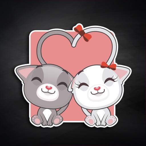 Animated Cats Stickers Emoji