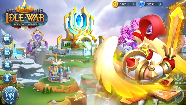 Idle War: Legendary Heroes screenshot-0