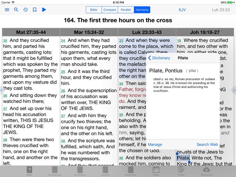 e-Sword HD: Bible Study to Go screenshot-4
