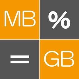 Byte Calculator -byte conv-
