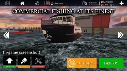 uCaptain: Boat Fishing Game 3Dのおすすめ画像6