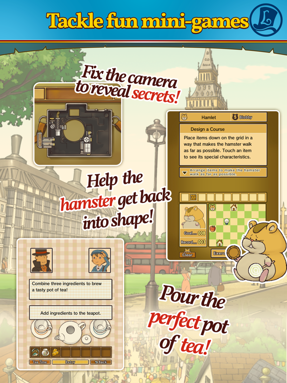 Layton: Pandora's Box in HDのおすすめ画像4