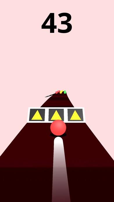 Screenshot for Color Road! in Saudi Arabia App Store