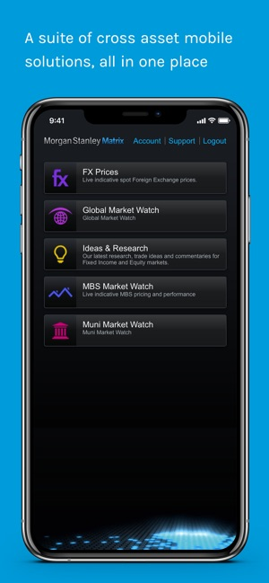 Morgan Stanley Matrix on the App Store