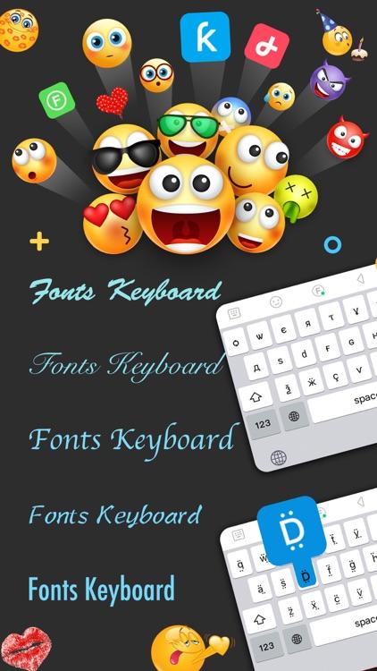 Fonts & Big Emojis for iPhones