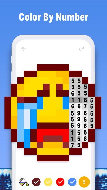 Pixel Art Color Book - Pix.num screenshot-4
