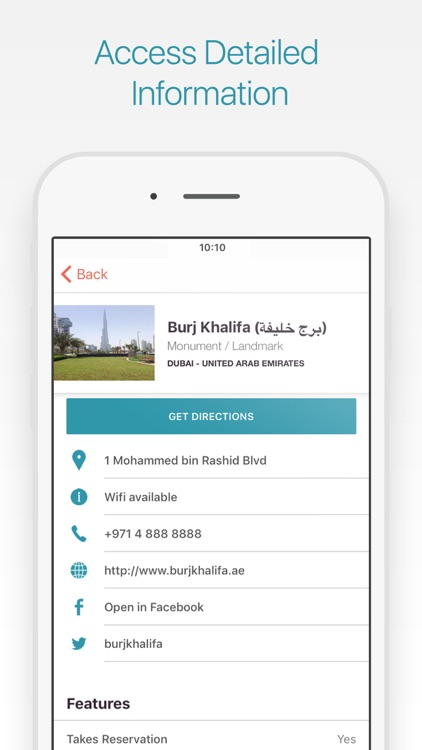 Dubai Travel Guide and Map