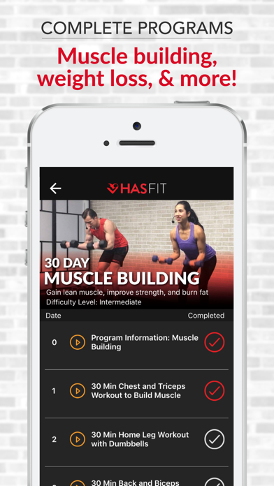 HASfit: Home Workout Routinesのおすすめ画像3