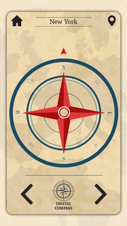 Precise Digital Compass screenshot-3