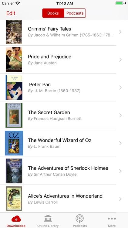 Audiobooks - Librivox library screenshot-4