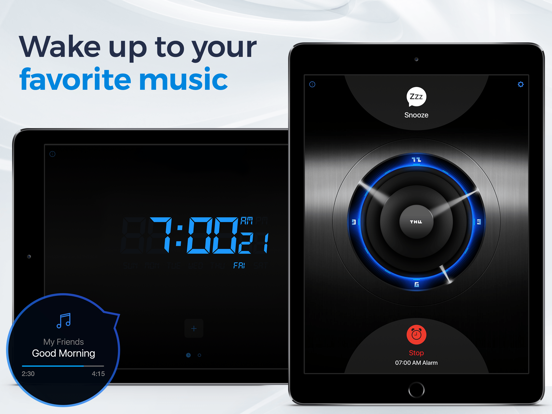 Alarm Clock for Me - Best Wake Up Sounds, Clock & Sleep Timer with Music screenshot