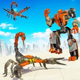 Scorpion Robot Clash War
