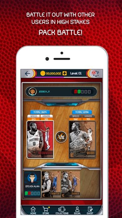 NBA Dunk - Trading Card Games Screenshot