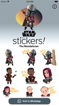 The Mandalorian Stickers iphone images