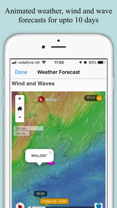 SeaNav UK & Ireland Screenshot