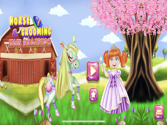 Cute Horse Unicorn : Hair Care screenshot 5