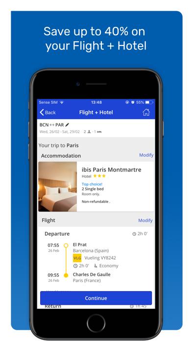 eDreams - Book Cheap Flights screenshot