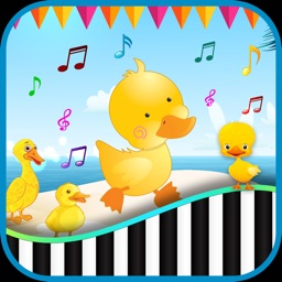 Baby Piano Duck Sounds Kids