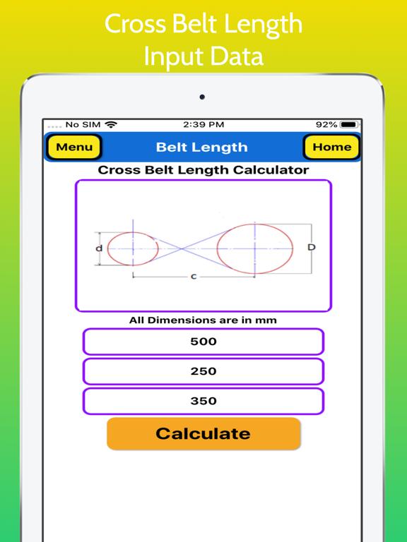Belt Length Calculator Pro screenshot 14