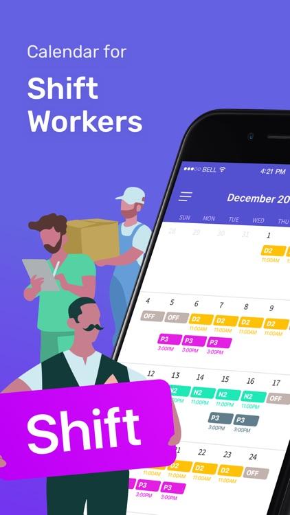 Shift Days - Work Tracker