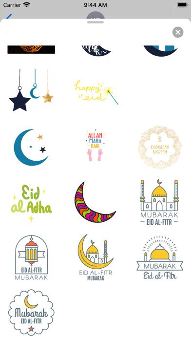 Animated Eid al-Fitr Sticker Screenshot