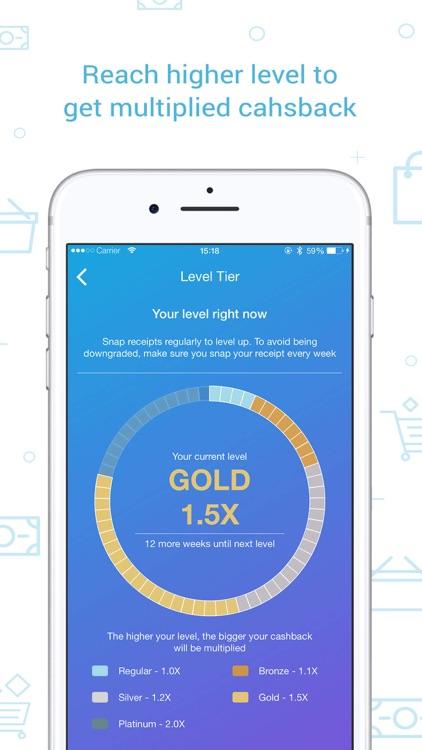 Snapcart: Cashback for Receipt screenshot-4