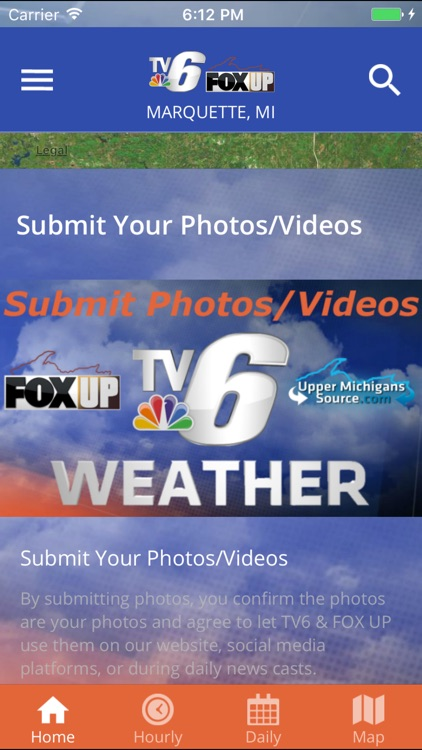 TV6 & FOX UP Weather
