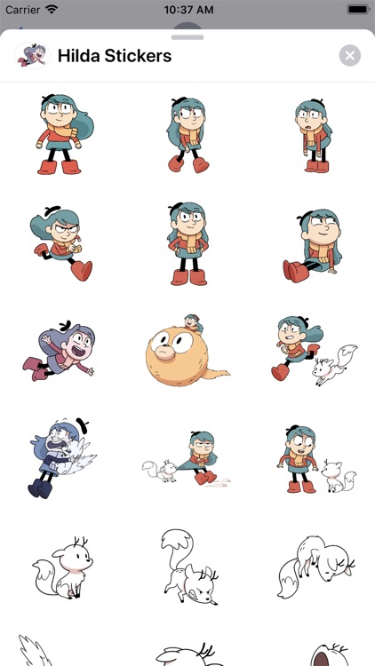 Hilda Stickers screenshot-2