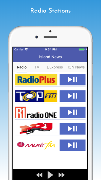 Island News - Mauritius screenshot one