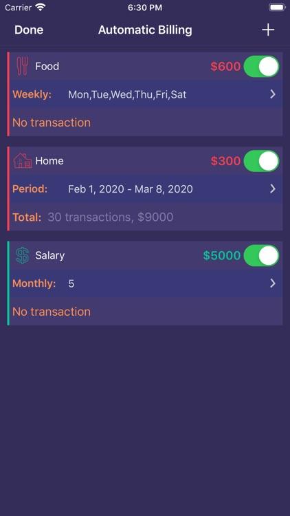 Bookkeeping & Budget screenshot-3
